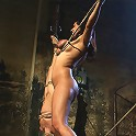 Maitresse Madeline, Princess Donna and Isis love., captured & bound.The