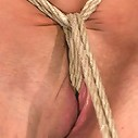 Hot 20 something with huge titsHair tied back, gagged, bent, brought to her toes Brutal Orgasms!