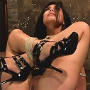 23yr's 1st time at KINK, & in bondage!1st time helpless, 1st time being made to cum over & over!