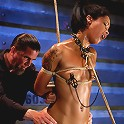 Skin Diamond-Day 4Intense Predicament Bondage & Non-Stop Orgasms Pushes ash Over the Edge