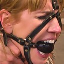 Maitresse Madeline and Bobbi Starr unite to destroy two hot blondes LIVE on Whipped Ass!