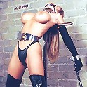 Cute Babe in BDSM