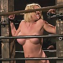 Krissy Lynn Big titted, blond, trapped in the big squeeze.