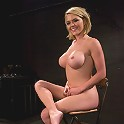 Krissy Lynn Hot Californian blond, suffers her first foot torture.
