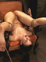 Pain slut, destroyed with pleasure.Massive orgasm overload totally implodes this whore's brain.